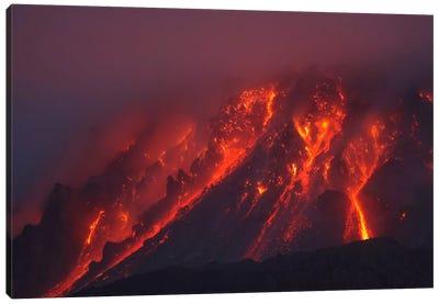 Soufriere Hills Eruption, Montserrat Island, Caribbean II Canvas Art Print