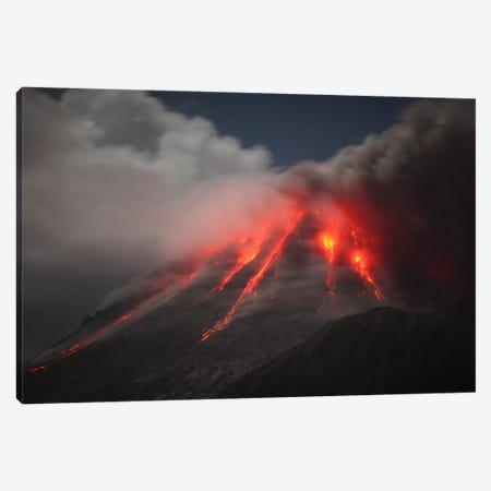 Soufriere Hills Eruption, Montserrat Island, Caribbean III Canvas Print #TRK1820} by Martin Rietze Canvas Art