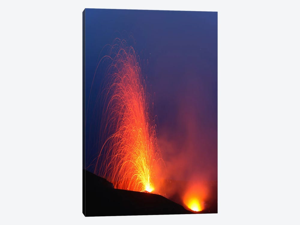 Stromboli Eruption, Aeolian Islands, North Of Sicily, Italy VII by Martin Rietze 1-piece Canvas Artwork