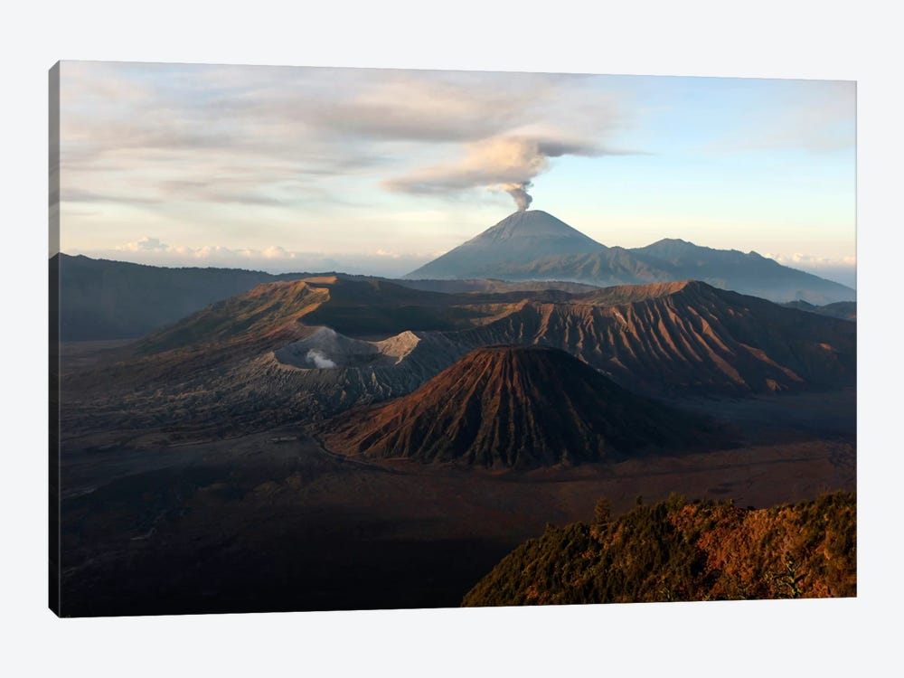 Tengger Caldera With Erupting Mount Semeru, Java Island, Indonesia by Martin Rietze 1-piece Canvas Artwork