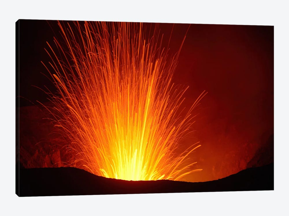 Yasur Eruption, Tanna Island, Vanuatu I by Martin Rietze 1-piece Canvas Wall Art