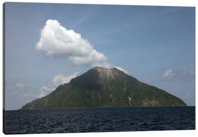 Batu Tara Volcano, Komba Island, Indonesia Canvas Art Print