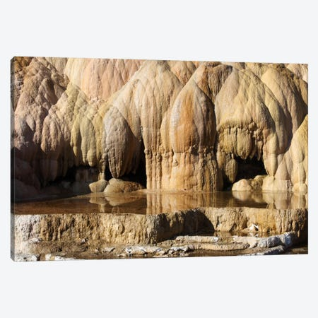 Cleopatra Terrace, Mammoth Hot Springs Geothermal Area, Yellowstone National Park, Wyoming I Canvas Print #TRK1858} by Richard Roscoe Canvas Print