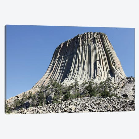 Devils Tower National Monument, Wyoming III Canvas Print #TRK1865} by Richard Roscoe Canvas Print