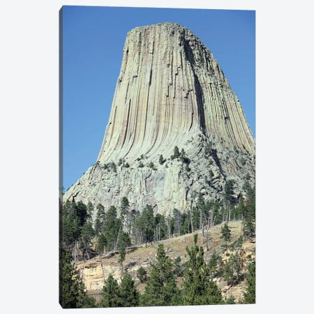 Devils Tower National Monument, Wyoming IV Canvas Print #TRK1866} by Richard Roscoe Canvas Print