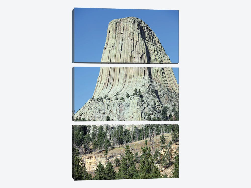 Devils Tower National Monument, Wyoming IV by Richard Roscoe 3-piece Canvas Artwork
