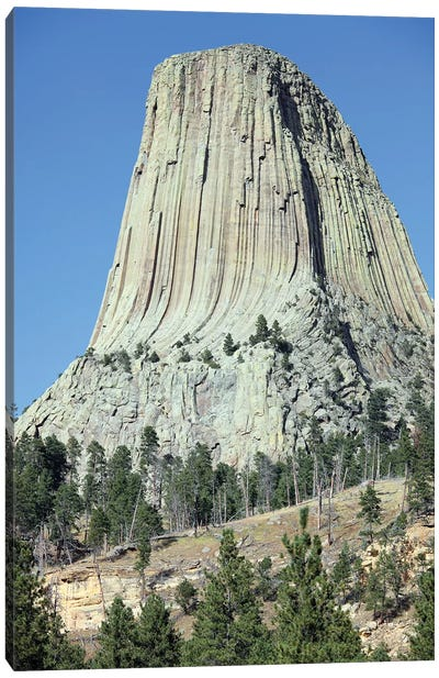 Devils Tower National Monument, Wyoming IV Canvas Art Print