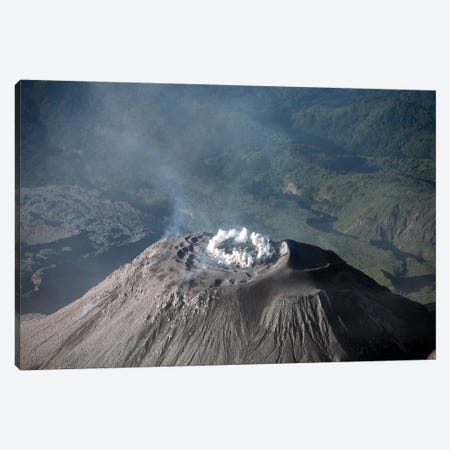 Eruption At Summit Of Santiaguito Dome Complex, Santa Maria Volcano, Guatemala Canvas Print #TRK1867} by Richard Roscoe Canvas Print