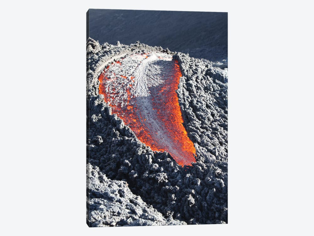 Lava Flow On The Flank Of Pacaya Volcano, Guatemala III by Richard Roscoe 1-piece Canvas Art