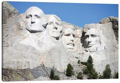 Mount Rushmore National Memorial, South Dakota, USA Canvas Art Print