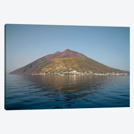 Stromboli Volcano, Aeolian Islands, Mediterranean Sea, Italy Canvas Print #TRK1927} by Richard Roscoe Canvas Wall Art