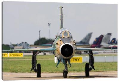 Romanian Air Force MiG-21UM Lancer-B Canvas Art Print