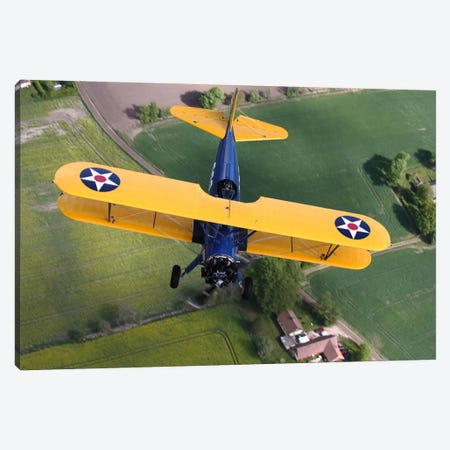 Boeing Stearman Model 75 Kaydet In US Army Colors II Canvas Print #TRK212} by Daniel Karlsson Canvas Art