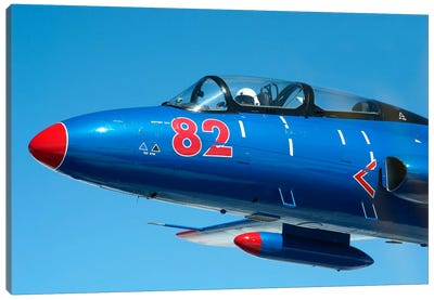 L-29 Delfin Standard Jet Trainer Of The Warsaw Pact Canvas Art Print