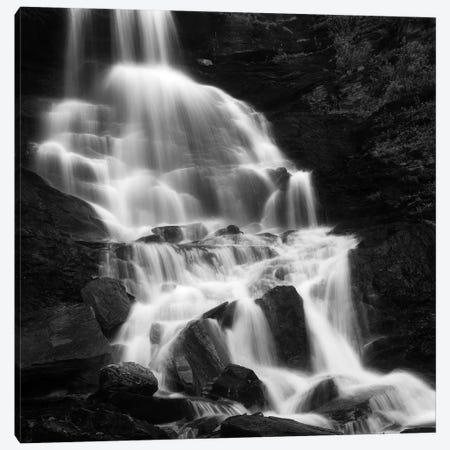 Roasto Waterfall In Nordland, Norway Canvas Print #TRK2263} by Arild Heitmann Canvas Artwork