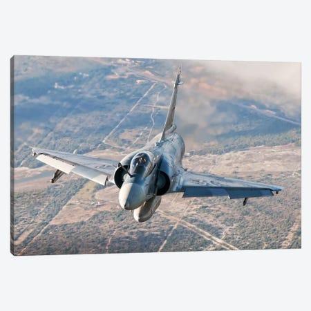 Brazilian Air Force Mirage 2000 Flying Over Brazil Canvas Print #TRK234} by Daniele Faccioli Canvas Art Print