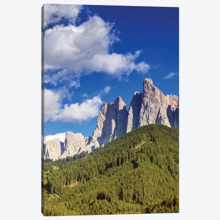 Dolomite Alps And Forest, Northern Italy. Canvas Print #TRK2437} by Evgeny Kuklev Canvas Artwork