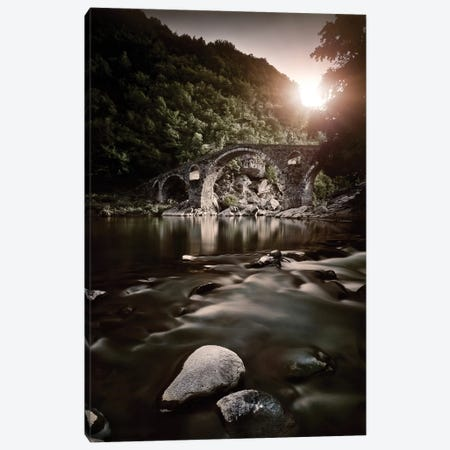 Dyavolski Most Arch Bridge In The Rhodope Mountains, Ardino, Bulgaria. Canvas Print #TRK2439} by Evgeny Kuklev Canvas Art Print