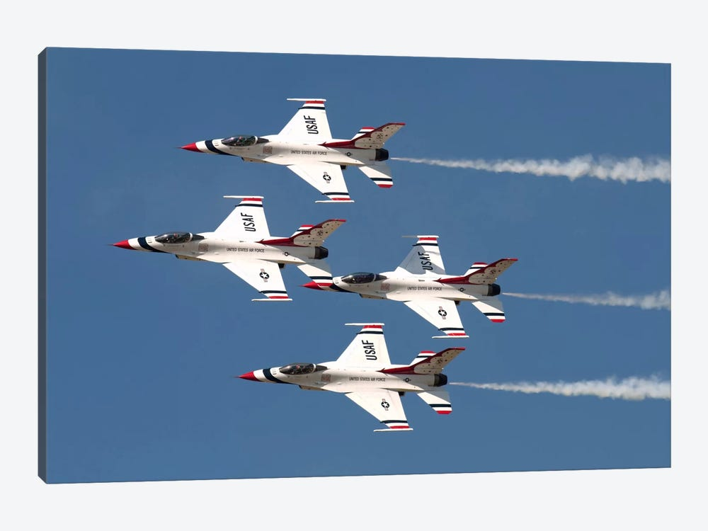 The US Air Force Thunderbirds Fly In Formation by Daniele Faccioli 1-piece Canvas Art Print