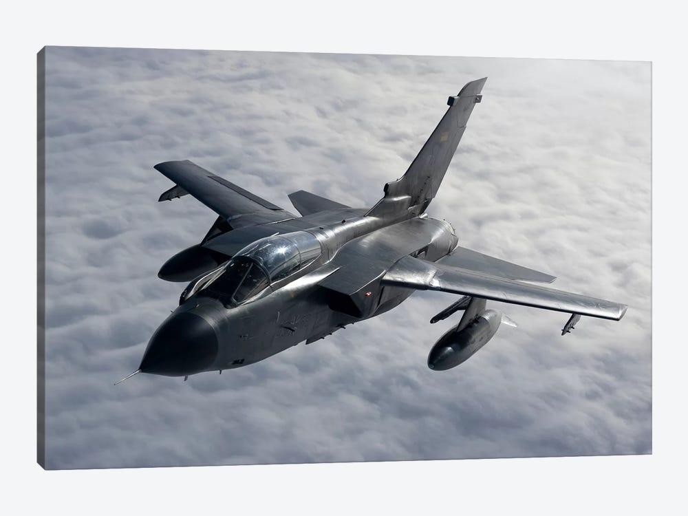 A Luftwaffe Tornado IDS Over Northern Germany by Gert Kromhout 1-piece Canvas Art Print