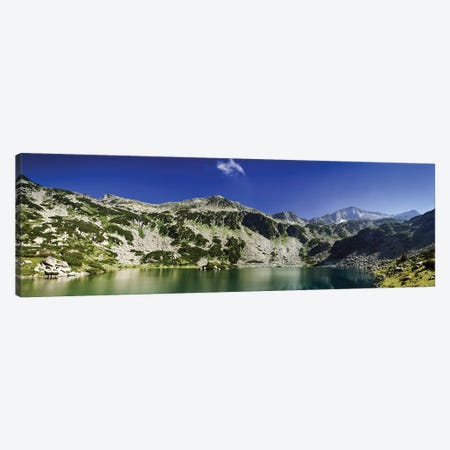 Ribno Banderishko Lake In Pirin National Park, Bansko, Bulgaria. Canvas Print #TRK2502} by Evgeny Kuklev Art Print