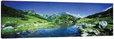 Ribno Banderishko River In Pirin National Park, Bulgaria. Canvas Art Print