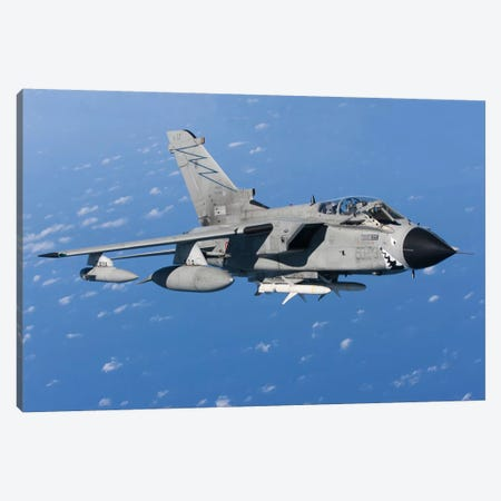 An Italian Air Force Tornado IDS Armed With AGM-88 HARM missiles Canvas Print #TRK251} by Gert Kromhout Canvas Wall Art