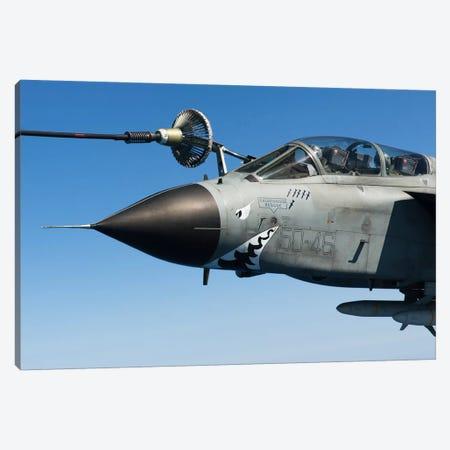 An Italian Air Force Tornado IDS Conducts In-Flight Refueling Canvas Print #TRK252} by Gert Kromhout Canvas Art