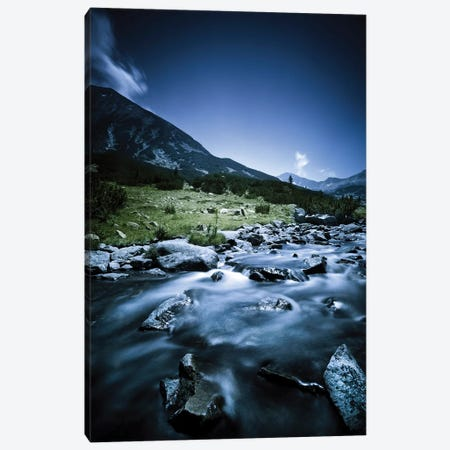 Small River Flowing Through The Mountains Of Pirin National Park, Bulgaria II Canvas Print #TRK2543} by Evgeny Kuklev Art Print