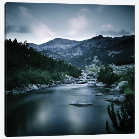 Small River In The Mountains Of Pirin National Park, Bansko, Bulgaria Canvas Print #TRK2547} by Evgeny Kuklev Canvas Wall Art