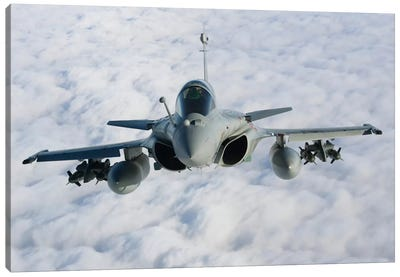Dassault Rafale B Of The French Air Force II Canvas Art Print