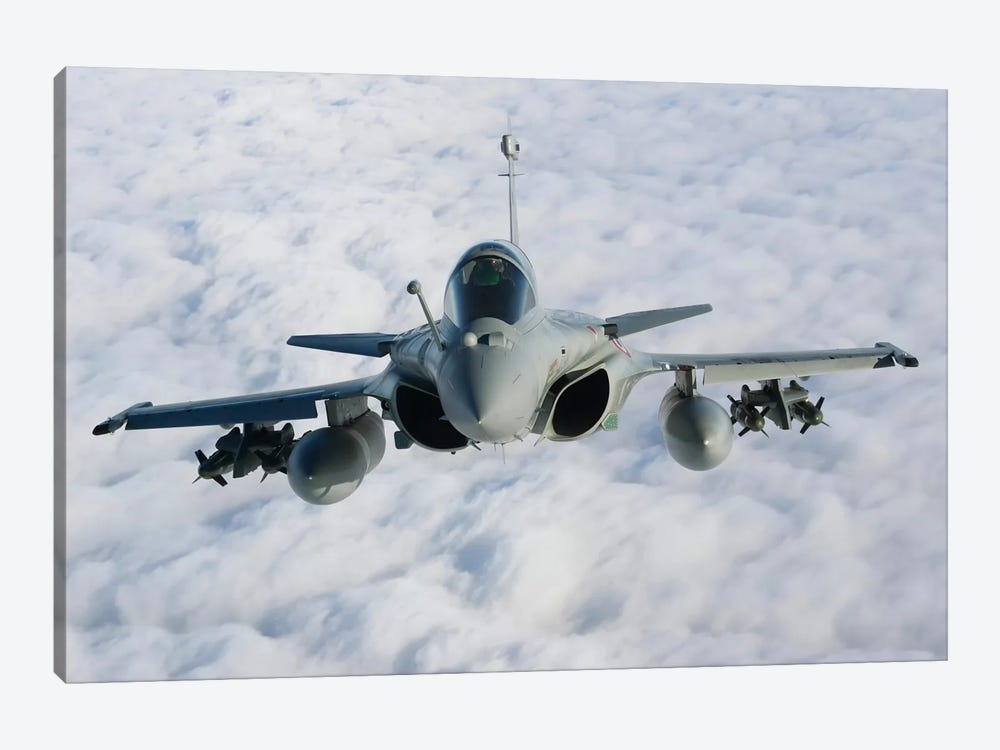 Dassault Rafale B Of The French Air Force II by Gert Kromhout 1-piece Art Print