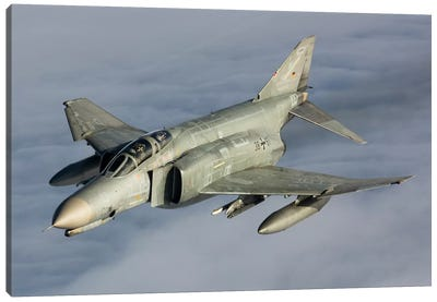 Luftwaffe F-4F Phantom II Canvas Art Print