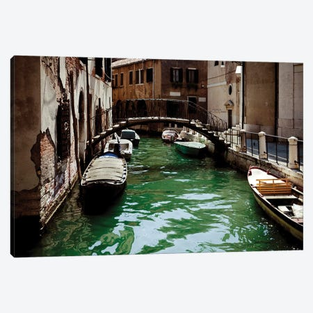 Venetian Canal, Venice, Italy I Canvas Print #TRK2588} by Evgeny Kuklev Canvas Art Print