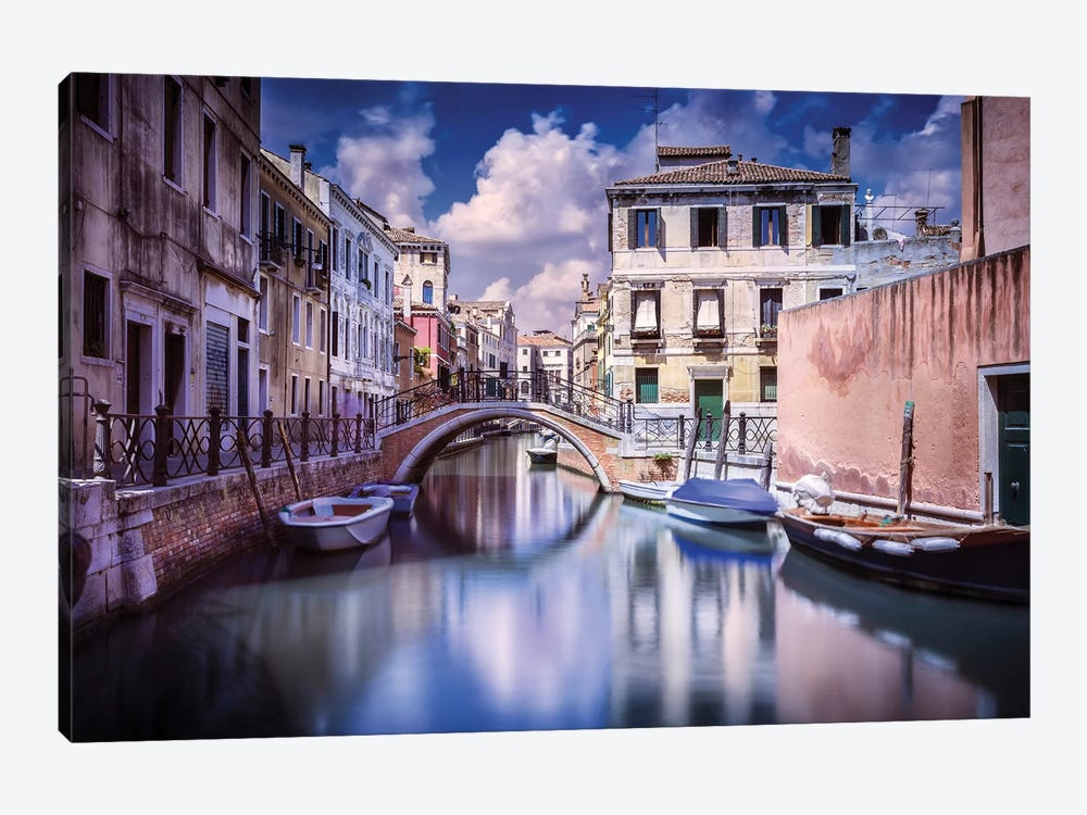 Venetian Canal, Venice, Italy II by Evgeny Kuklev 1-piece Canvas Art