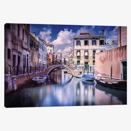 Venetian Canal, Venice, Italy II Canvas Print #TRK2589} by Evgeny Kuklev Canvas Art Print