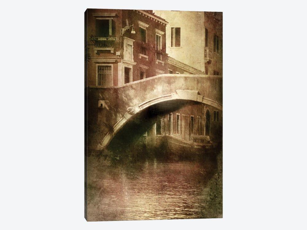 Vintage Shot Of Venetian Canal, Venice, Italy II by Evgeny Kuklev 1-piece Canvas Art