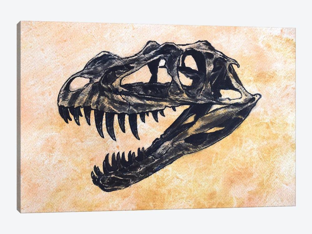 Ceratosaurus Dinosaur Skull by Harm Plat 1-piece Canvas Print
