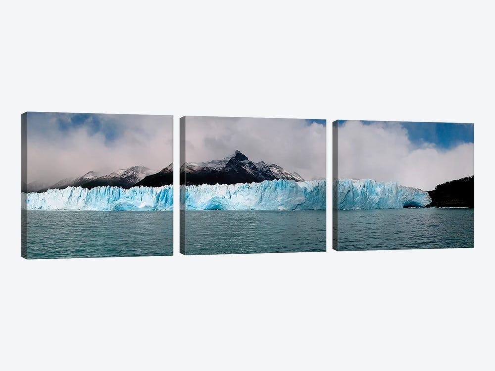 The Perito Moreno Glacier In Los Glaciares National Park, Argentina I by Luis Argerich 3-piece Art Print