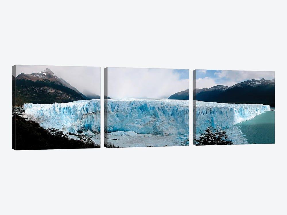 The Perito Moreno Glacier In Los Glaciares National Park, Argentina II by Luis Argerich 3-piece Canvas Artwork