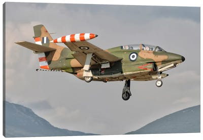 A T-2 Buckeye Of The Hellenic Air Force At Kalamata Air Base, Greece Canvas Art Print