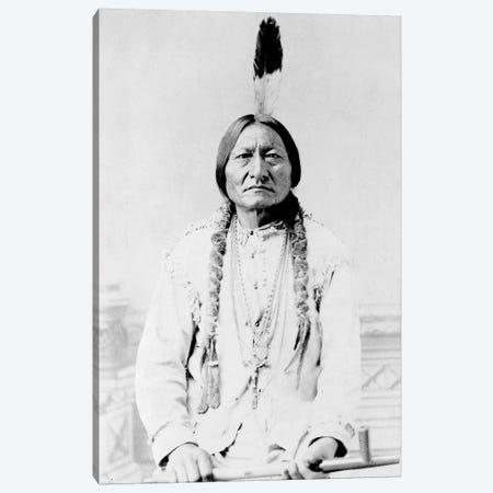 Sitting Bull, A Hunkpapa Lakota Tribal Chief Canvas Print #TRK2761} by Stocktrek Images Art Print