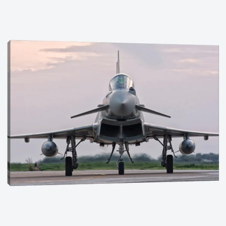 An Italian Air Force F-2000 Typhoon Aircraft Canvas Print #TRK279} by Giovanni Colla Canvas Art