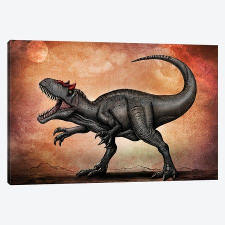 Allosaurus dinosaur. Canvas Print #TRK2831} by Aram Papazyan Canvas Print