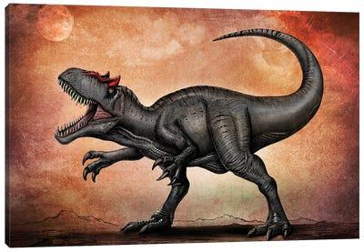 Allosaurus dinosaur. Canvas Art Print