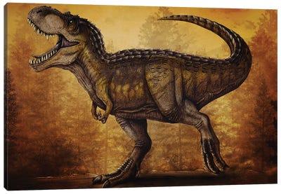 Magnatyrannus dinosaur. Canvas Art Print