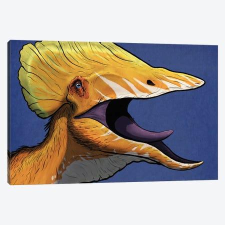 Portrait of a Tupuxuara dinosaur. Canvas Print #TRK2858} by Paulo Leite da Silva Canvas Print