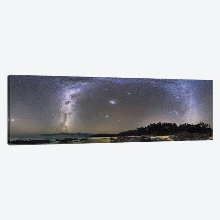 A 360 Degree Panorama Of The Southern Autumn Sky On The Gippsland Coast Of Australia. Canvas Print #TRK2870} by Alan Dyer Canvas Print