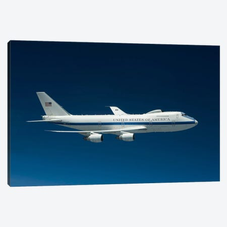 An E-4B National Airborne Operations Center Aircraft Canvas Print #TRK294} by HIGH-G Productions Canvas Art Print