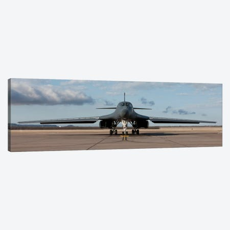 B-1B Lancer At Dyess Air Force Base, Texas Canvas Print #TRK297} by HIGH-G Productions Canvas Art Print
